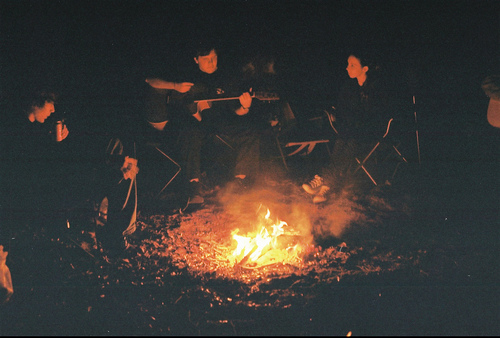 bon fire, camp, fire, indie
