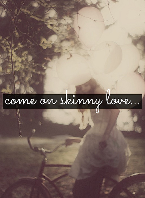 bon iver, skinny love, song, lyric, lyrics