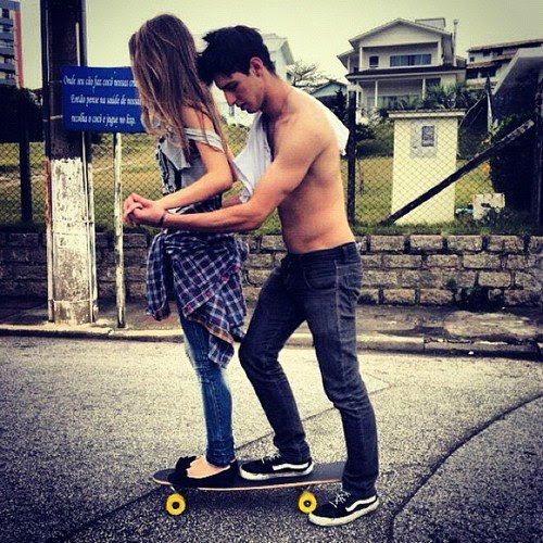 cute couple skater boy pictures