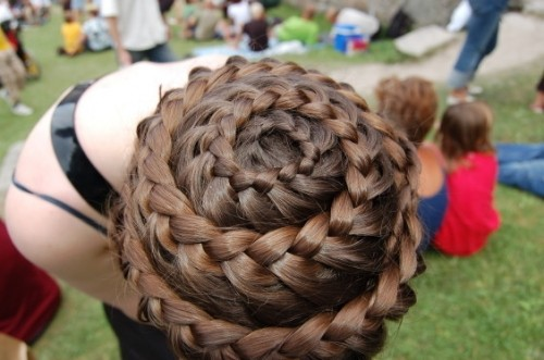 braid, hair, intriquet, waterfall