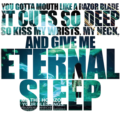 Bmth Quotes: Bring Me The Horizon, Count Your Blessings, Depression