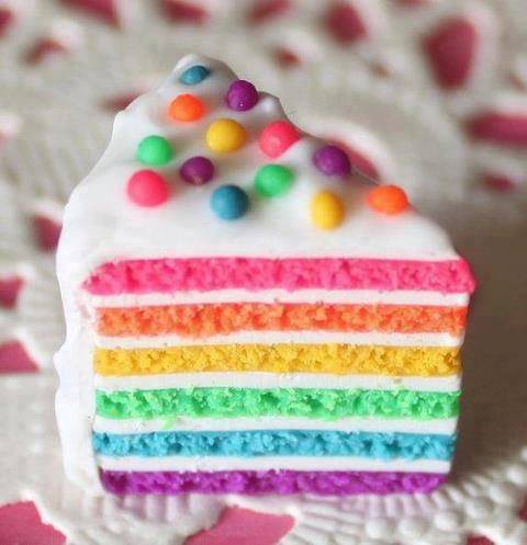 cake, cool, delicious, photography, rainbow, yummy