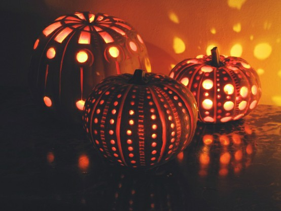 Candles Carved Pumpkins Carving Carving Ideas Image