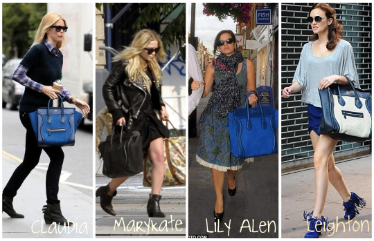 celine handbags sizes