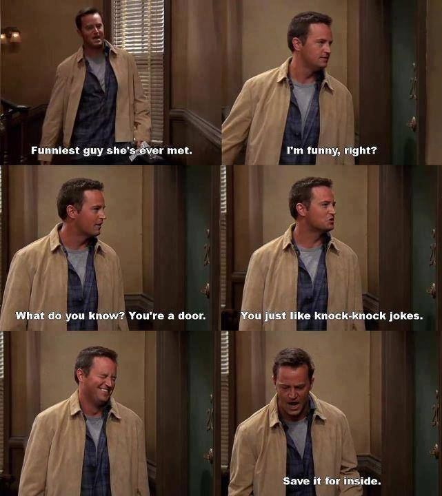 chandler, friends, funny and tv show