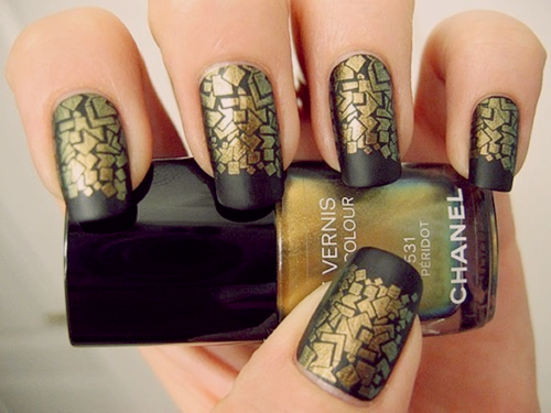 chanel, fashion, nails