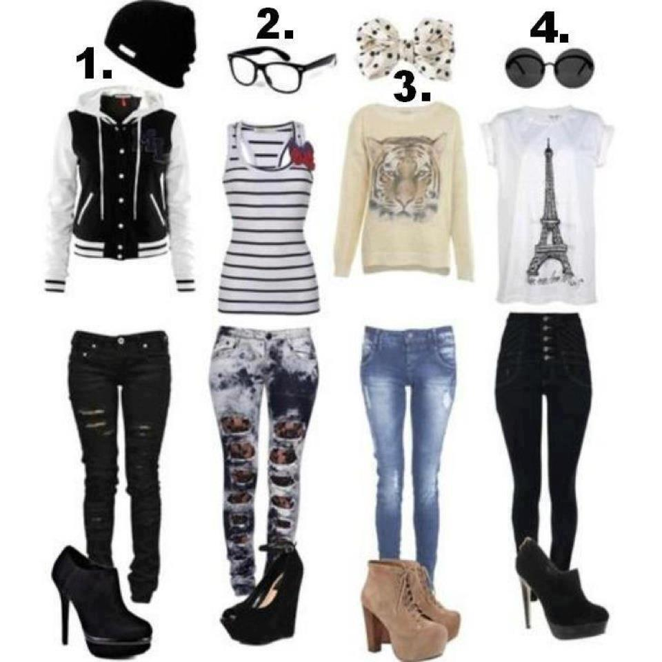 clothes, fashion, glasses, hats, high heels, jeans, paris, shirts