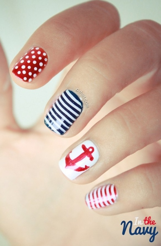 Fashion Nail Trend: Colorful, Cute, Fashion, Nail Art
