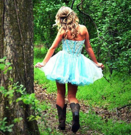 blonde, boots, country, cowgirl, curly, dress, girl, hair, hipster, photography, pretty, princess, shoes, sparkles, swift, taylor, trees, woods