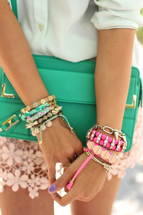 Cute clutch cute outfit fashion jewelry lace