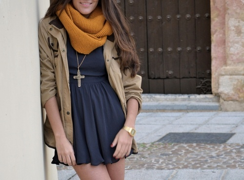 Cute Fall Dress Outfits cute dress fall fashion