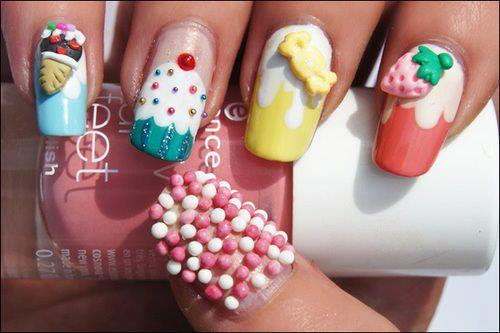 cute.candy, fashion, nails