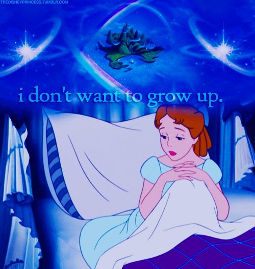 peter pan generation is growing up 472 quotes from jm barrie: 'to die will be an awfully big adventure', 'all the world is made of faith, and trust, and pixie dust', and 'never say goodbye because goodbye means going away and going away means forgetting.