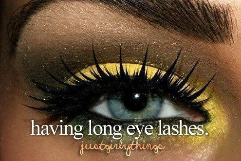 amazing, colors, dream, eyes, girly, lashes, life, long, love, yellow