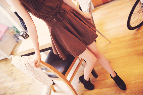dress, heels, kfashion, korean fashion