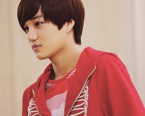happiness!, Heyyy can you make a drabble for Kai? Like ...