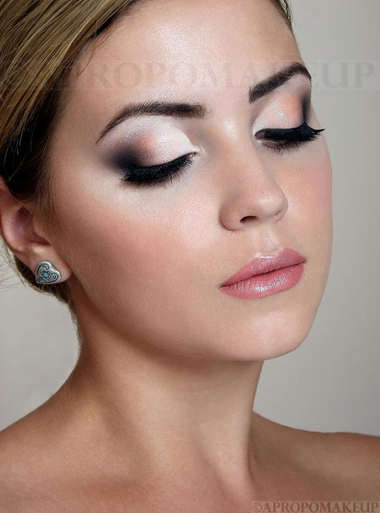 eye on   for image make up, natural look #663664 Favim.com makeup blondes  eyeshadow