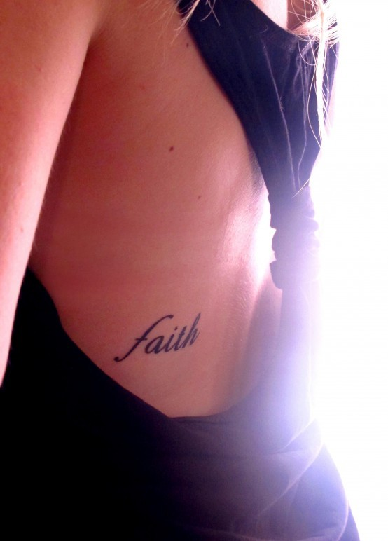 faith  tattoo - image ...