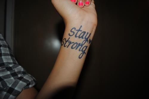 girl, hand, stay, stay strong