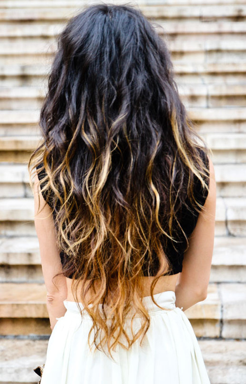Dark Hair Ombre Tumblr