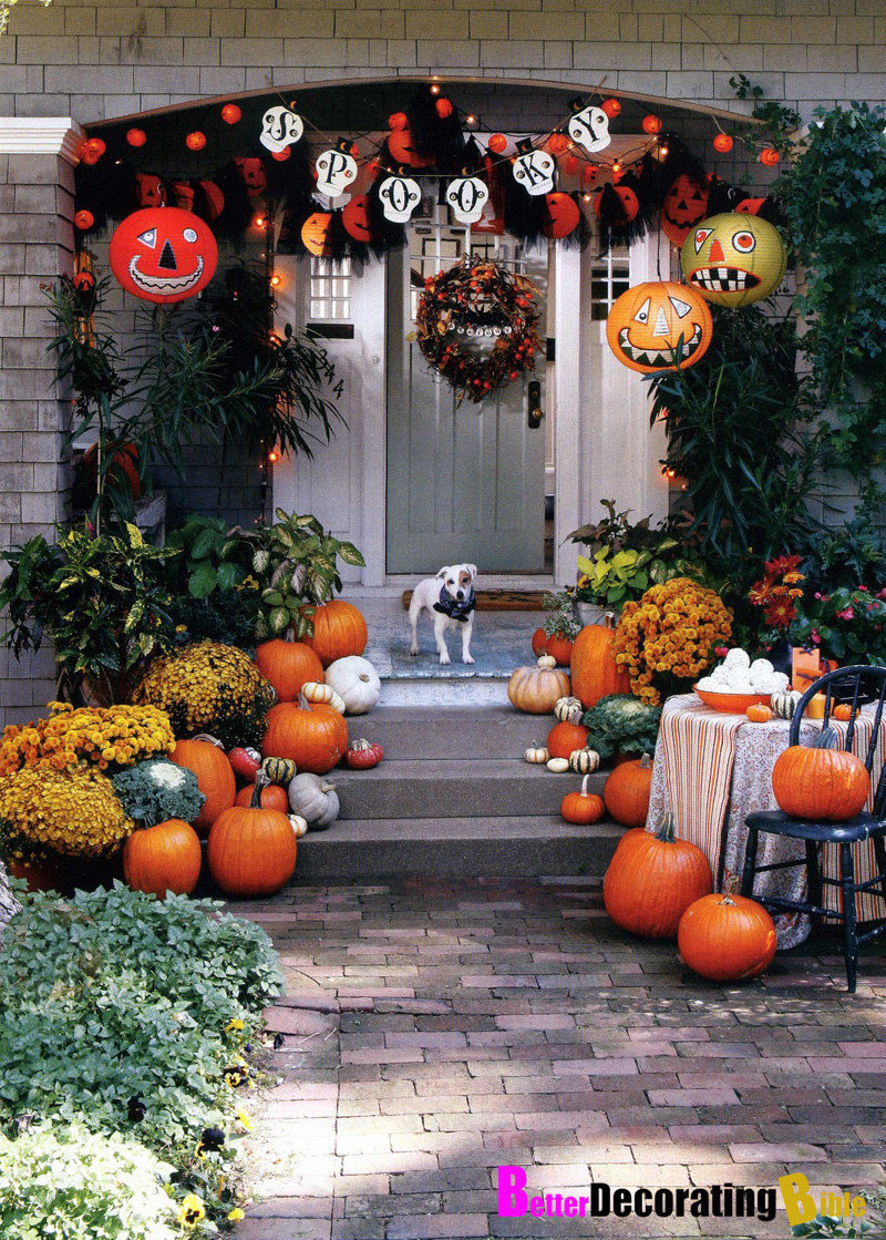 Decoration Halloween Outdoor Decoration With Small Jars