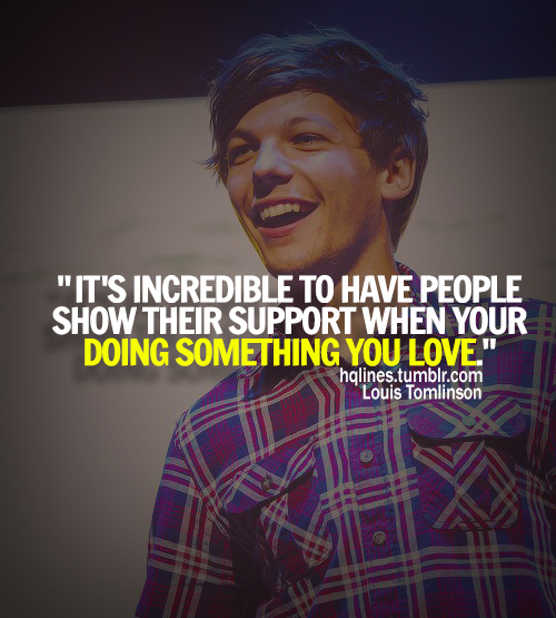 hqlines, louis tomlinson, one direction, quotes