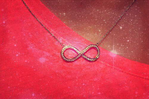 infinity, necklace