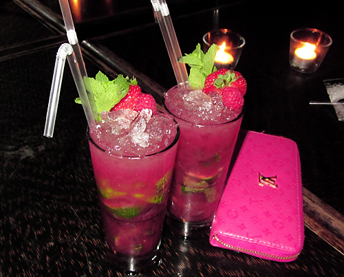 Louis vuitton details drink drinks image 637602 on for Pink cocktails with vodka