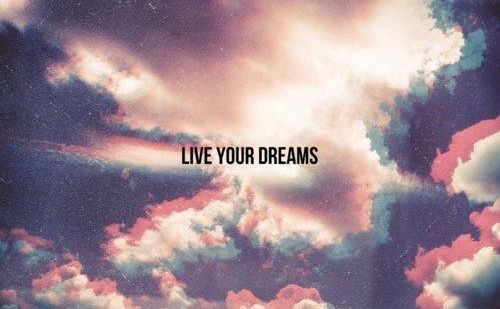 <3, alone, colors, dreams, girl, hipster, live, sky