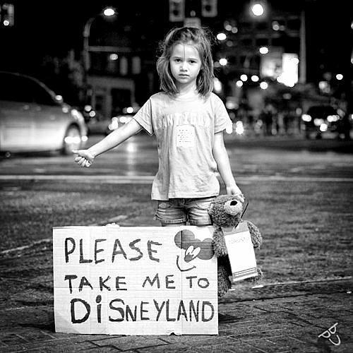 <3, black and white, disneyland, little girl, me, please, take, to