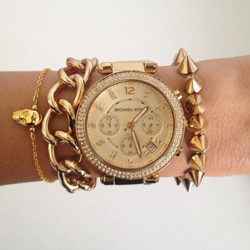 michael kors watch on Tumblr