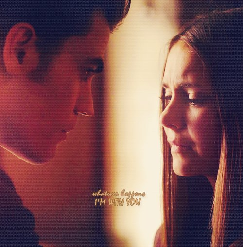 couple, cute, elena gilbert, love, nina dobrev, paul wesley, stefan salvatore, stelena, the vampire diaries, tvd