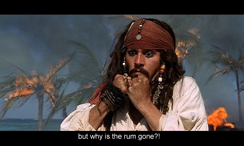Why Is The Rum Gone Quote: Image #617100 On Favim.com