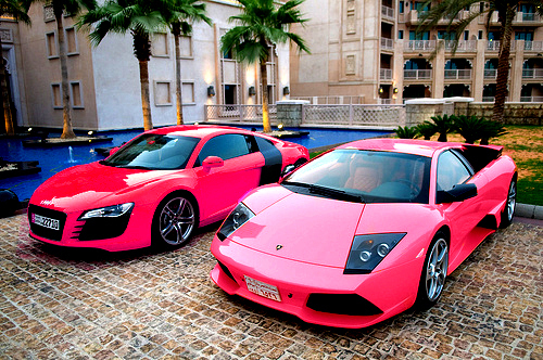 cars, cute, love, pink, pink cars, pretty, quote, quotes