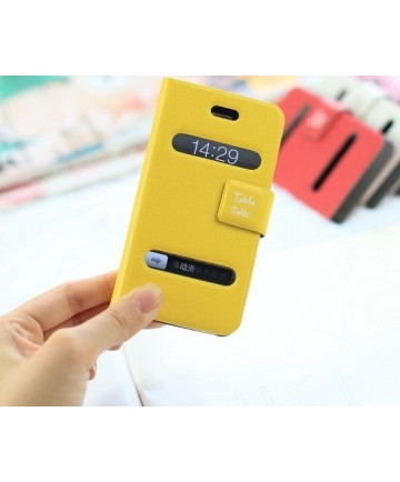 purse like pure color pu case for iphone4/4s $14.99