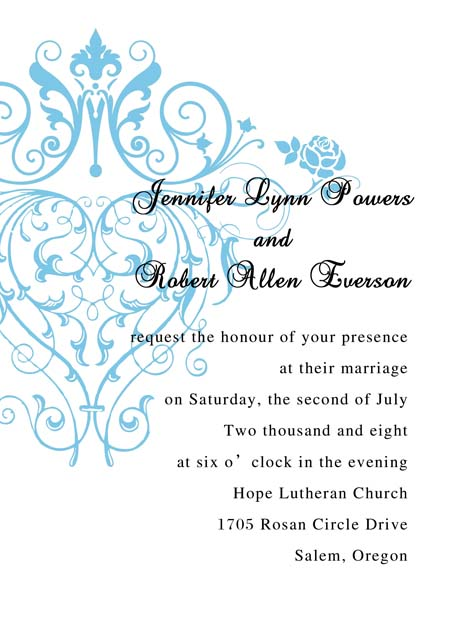 cards, formal, invitation, invitationstyles, romantic, wedding, words