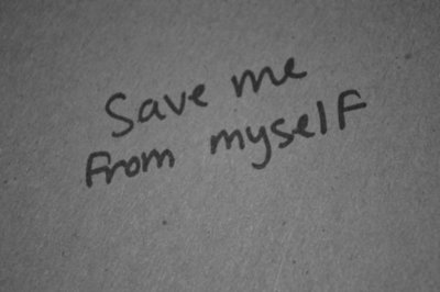 save me, black and white, myself, quote - image #654935 on ...