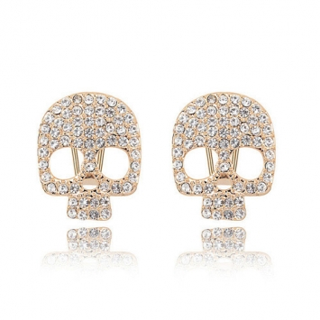 accessories, beautiful, chic and crystal skull