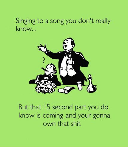 singing, funny, lol, quote