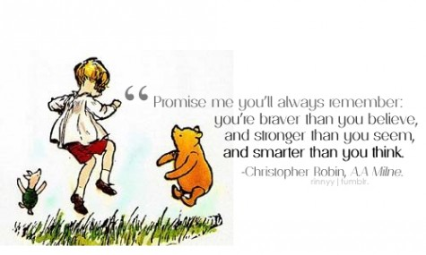Promise me you 39 ll always remember you 39 r by a a milne for Rough and milne