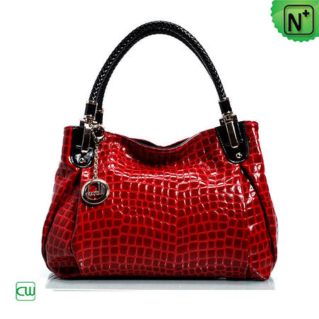 women red/coffee leather bags cw229209 - m.cwmalls.com