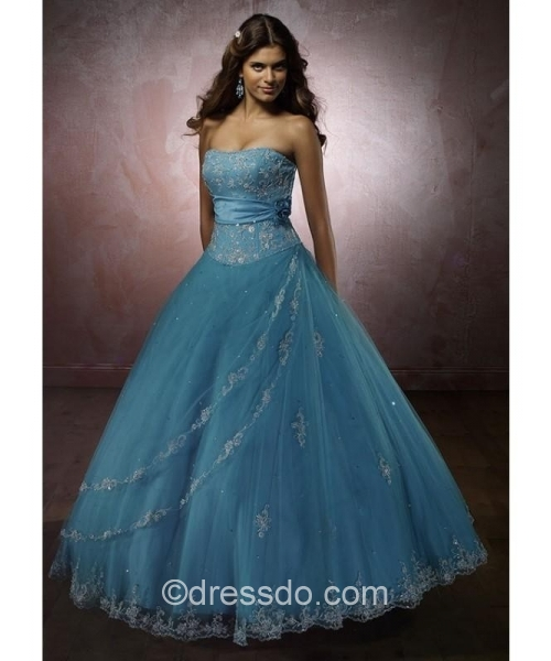 ball gown, beautiful dress, blue and blue dress