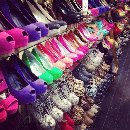 colorful, colors, cool, dream, fashion, girl, heels, photography, shoes, shop