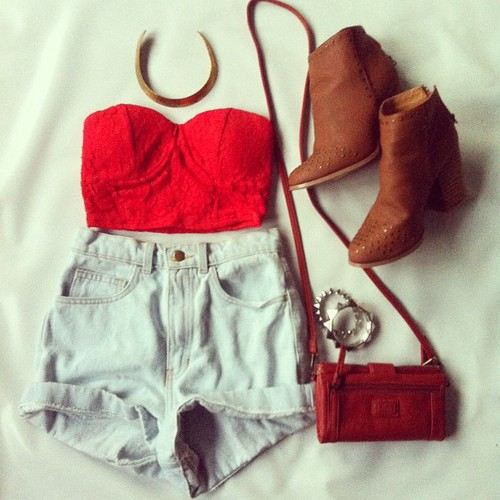 accessories, bag, beautiful, beauty, boots, clothes, denim, dm, dm's, dress, fashion, flowers, girl, girls, hair, heels, love, outfit, pretty, red, shoes, shorts, style, top