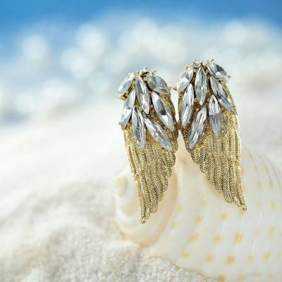 adjustable rings, angel wing cocktail rings, angel wing jewelries and angel wing rings