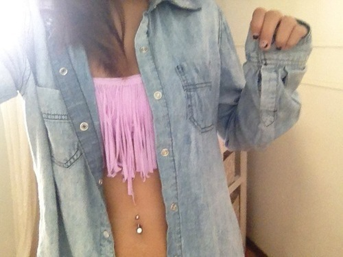 adorable, beach, belly piercing and belly ring