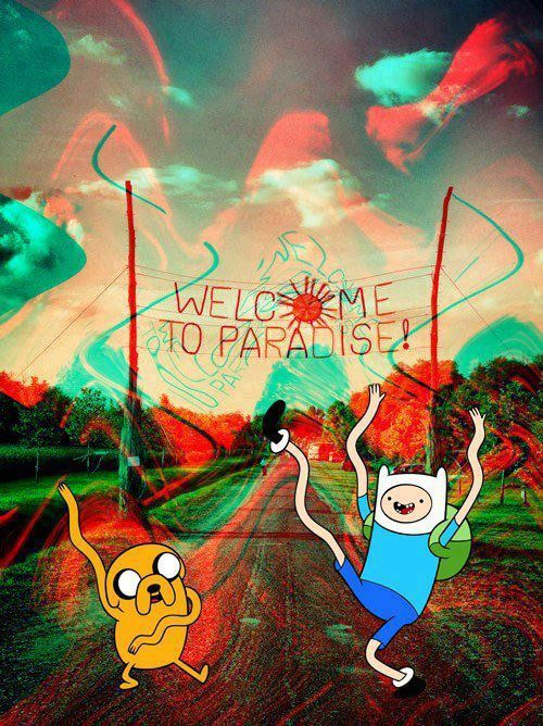 adventure time, psicodelic, trippy, trippy vibe