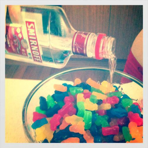 Alcohol delicious drinks food party smifnoff sweets vodka