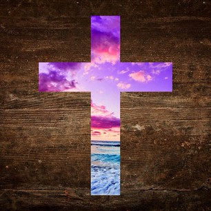 almighty, clouds, creative , cross