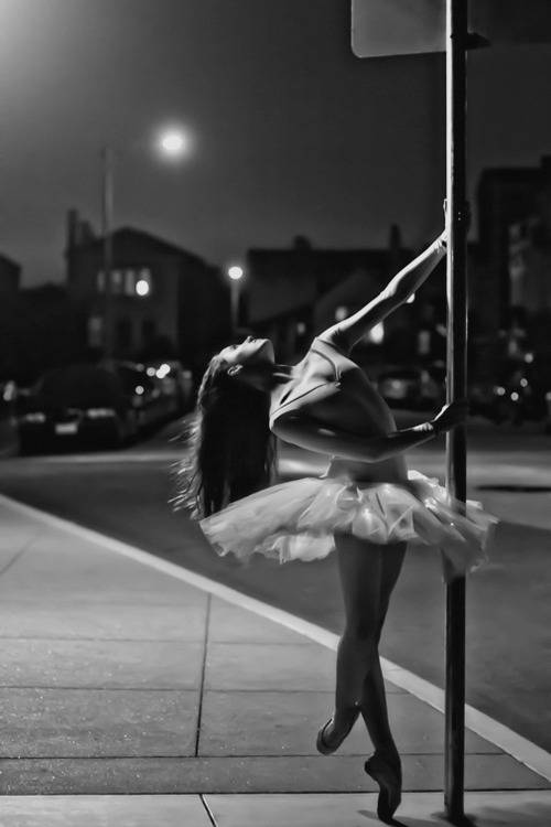 ballerina, ballet, black and white, dance, girl, long hair, photography
